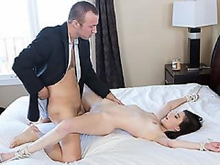 Chad Lit Up Two Exquisite Ivory Candles And Started Dripping Wax From Jennas Tits