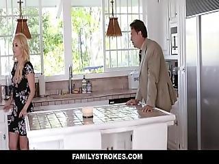 Familystrokes - Hot Mom Bails Son To Fuck