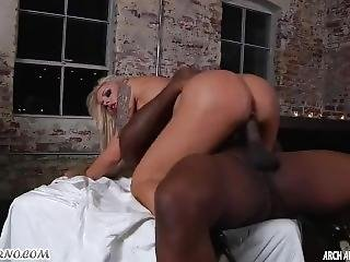 Nina Elle Punishes Her Black Slaves