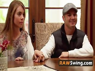 Couples Get Together To Show Off Their Curves At The Swing House