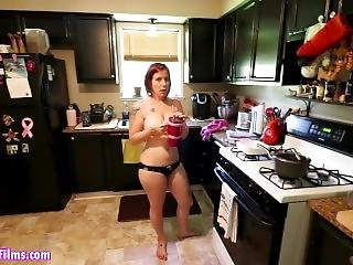 All Natural Mom Welcomes Stepson Home From Prison With A Pov Blowjob-part 2