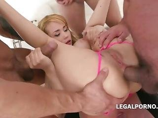 Legalporno - Natasha Teen - Blonde-monsters Disk Triple Anal, Facial,gum