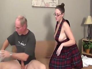 Fit Younger Girl Fucked By A Nasty Old Man