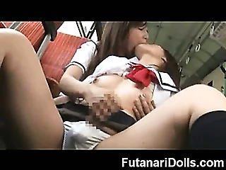 Futanari Schoolgirl!