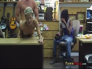 Shop Fucking With Real Crazy Cunt