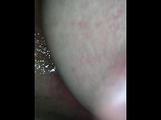 Dripping Sperm From My Gf Tight Ass And Spanking