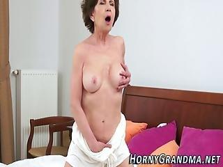 Grandma Takes Black Cock