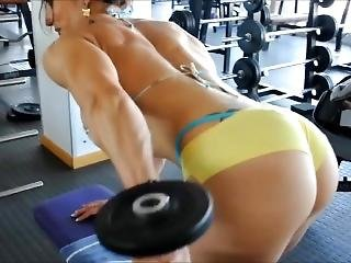 Female Muscle Long Workout