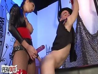Fuck The Police W Dava Foxx Femdom Strapon Ballbusting Edging