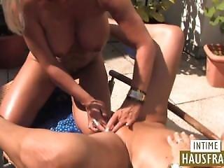 Big Tit, Blonde, Games, German