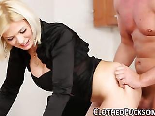 Jizz Glam Whore Bent Over