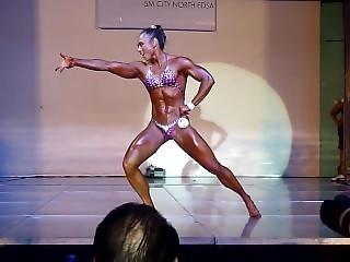 Asian Female Bodybuilder Doreen Yeo 2013