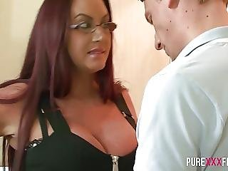 Stepmom Has Huge Tits