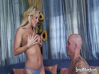 Very Hot Blonde Fuck And Facial