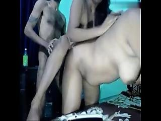 Do Choot Ek Lund Threesome With Audio - So Much Fun