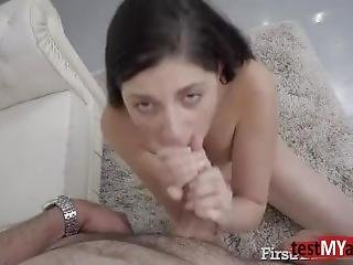 Hot Teen Anal Audition With Cumshot