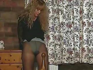 Lingerie, Masturbation, Milf, Nylon