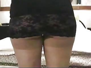 Amateur, Ass, Butt, Mature, Milf, Miniskirt, Panties, Pantyhose, Sexy, Skirt, Upskirt
