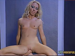 bizzare, blonde, voet, masturbatie, vreemd