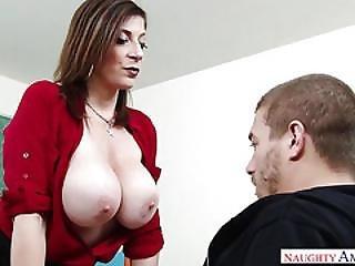milf, oral, sexo, professora