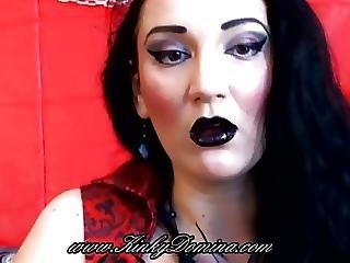 Brunette, Cosplay, Femdom, Goth, Mistress, Vampire