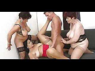 Bbw, Kneppe, Gruppesex, Behåret, Hugetit, Matur, Sex