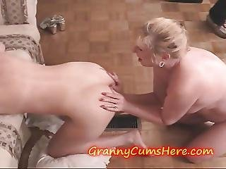 Nasty Old Grannys Suck Filthy Ass