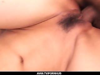 Serina Hayakawa Gets Cream In The Pussy After Hardcore Sex