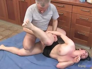 Mature Man Has Fun With Chubby Neighbour