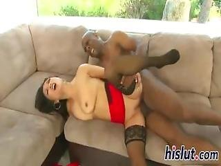 Mia Rider Is Crazy About Black Dicks