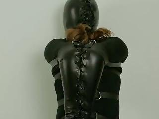 Rs - Tied With Harness, Armbinder And Hood