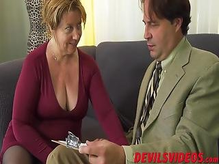 Chubby Grandma Opens Wide For A Big Surprise And Spreads Her Legs For An Incredible Pounding Of Her Life
