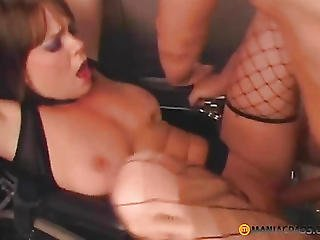 Fuck Her Tender Pussy On The Couch