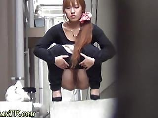 Fetish Asian Pees Outdoor