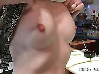 Cute Girls Flashing Tits For Cash In A Bar