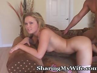 ベビー, 巨乳, ブロンド, 陰茎, ハウス, ハウスワイフ, 妻
