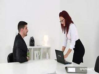 Secretary Fucks The Content Manager