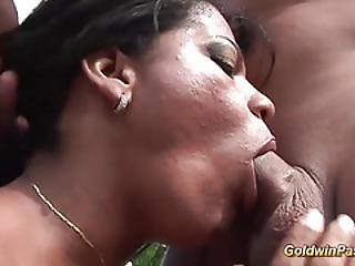 Big Clit Round Ass Brazilian Anal