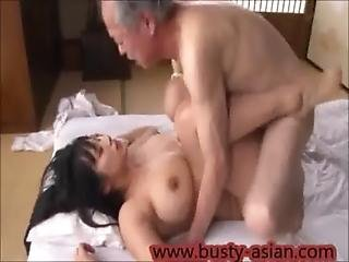 Young Busty Japanese Girl Fucked By Old Man Http Japan-adult.com Xvid