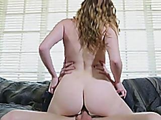 Slim Teen Stacey Leann Fucked By Stepbro On The Couch
