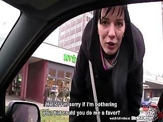 Bitch Stop - Skinny Slovak Brunette Gets Anal Fucked
