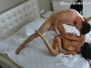 Deep Missionary Fucking And Cum On Big Boob Brazilian Pornstar