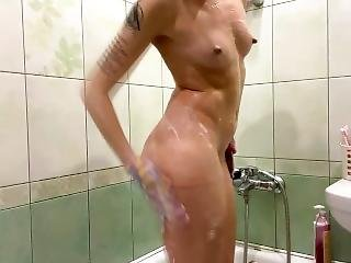 Wash Off Body Art From My Naked Body