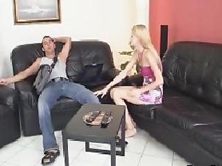 Rough Sex With Czech Blonde Teen