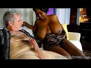 Beautiful Big Tits Black Bbw Gives An Amazing Blowjob