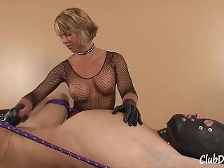 Goddess Brianna Owns His Balls