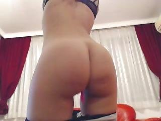 Sexyhotwifeporn Ass In Grey Leggings
