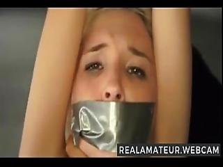 Tiny Cute Blonde Tied Up And Fucked More At Www.realamateur.webcam