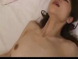 Hot Aimi Nakatani Takes A Big Dick Deep In Her Hairy Asian Cunt