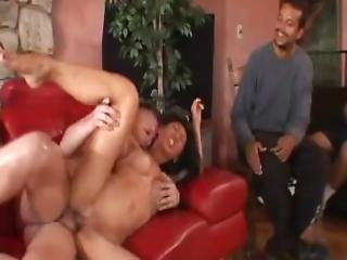 Asian Swinger Spread Her Pussy With A Smile